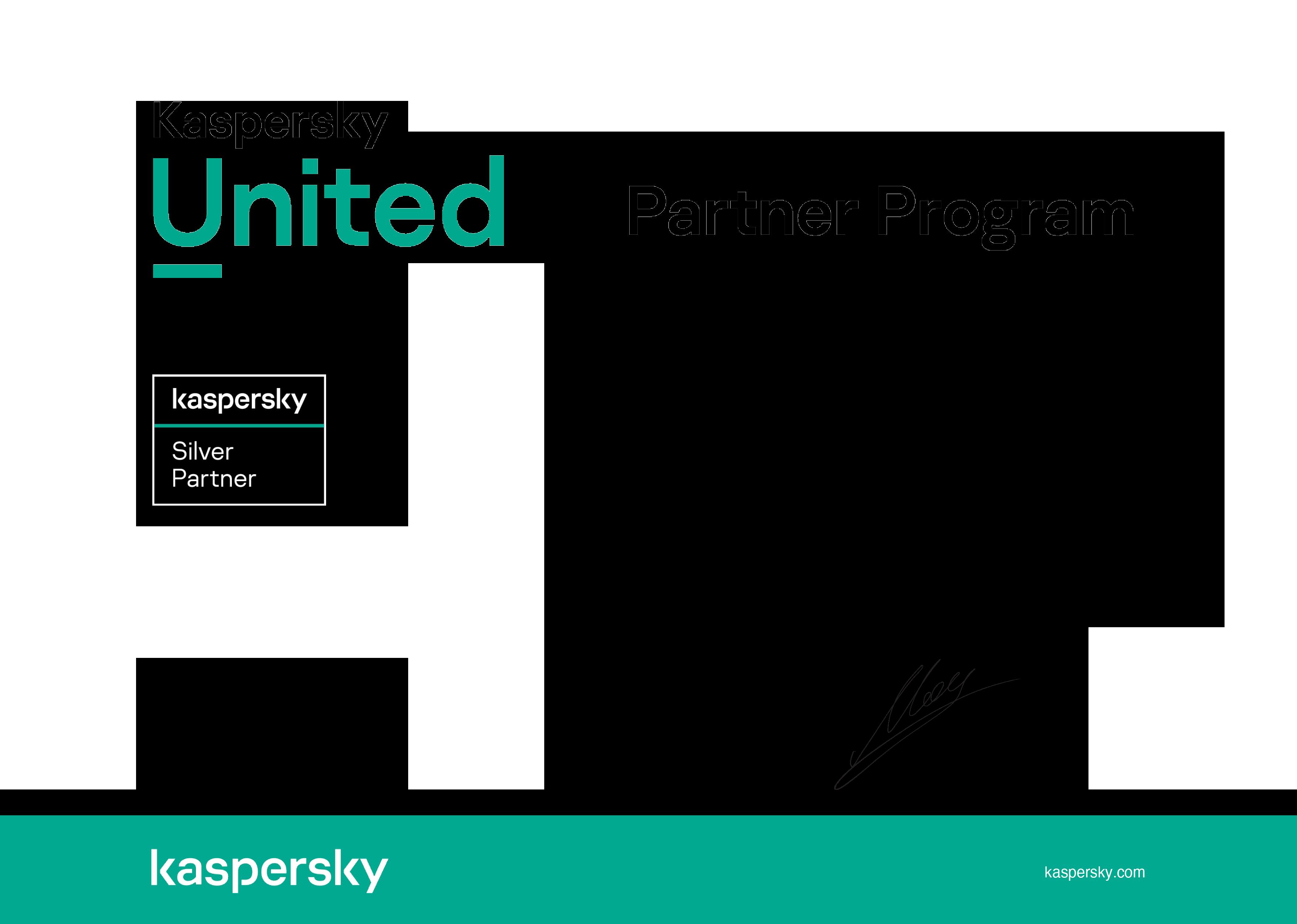 4a. Kaspersky Certificate